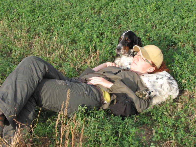 Odpočinek v terénu :-)