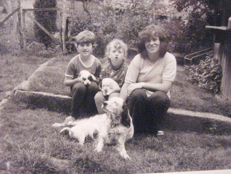 Dolly, mamča, brácha a já