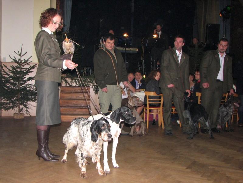 Fai & Anuschka na přehlídce loveckých psů